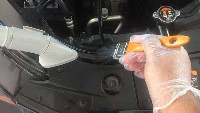 براق کردن موتور